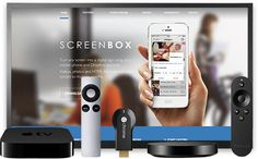 ScreenBox enables you to turn any screen into a sign using your and account / Children's Theatre, Digital Signage, Apple Tv, Remote, Smartphone, Pilot