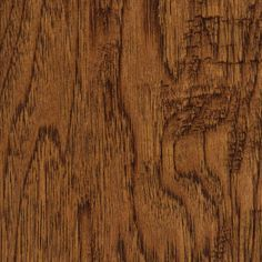 Take Home Sample Handscraped Distressed Palmero Hickory Click Hardwood Flooring - 5 in. x 7 in.