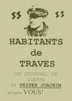 """After an article in L'Humanite, June 21, 1976 and subsequent campaigns in the press, came a collective opinion that """"Nazi criminals"""" have no place in France. They flooded the neighborhood with such..."""