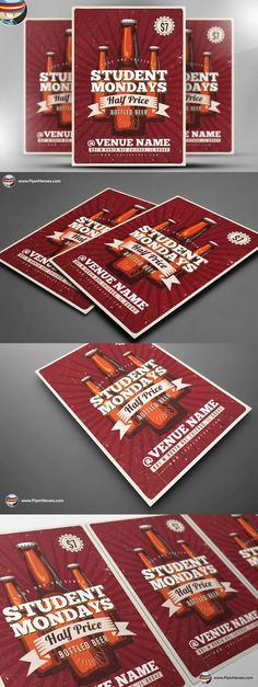 Student Offer Flyer Template