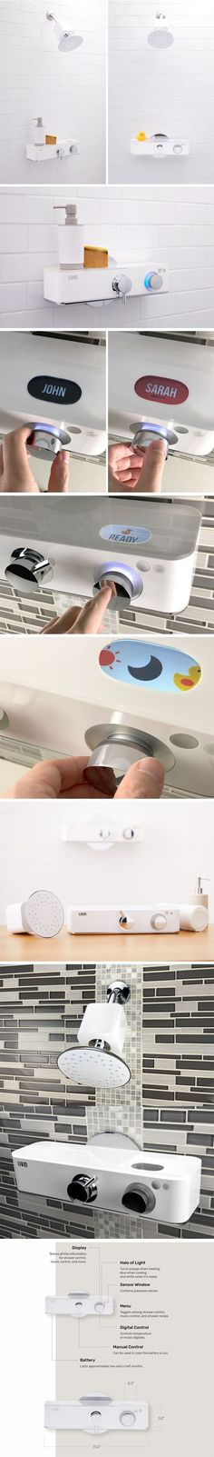 The Livin Shower valve takes care of literally everything for you. Set the temperature you want to bathe at and the Livin does the rest. You can even set your own profile on the shower's companion app, saving your preferences along with those of the rest of the family. Alternating between shower profiles to bathe is very simple. Livin was built out of the simple reason that finding the ideal shower temperature was a monumental waste of time and water. BUY NOW!