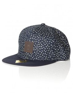 Mens floral mossimo snapback in blue. Go Blue, Festival Fashion, Graphic Prints, Mud, Snapback, Indigo, Baseball Hats, Collections, Style Inspiration
