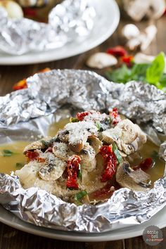 Chicken Milano Foil Packet