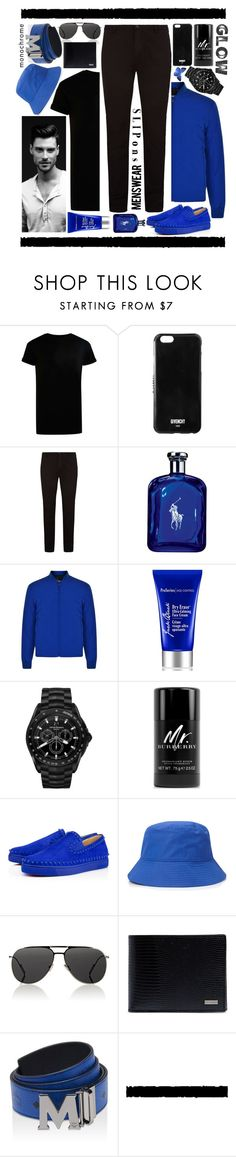 """""""Slip-ons--Menswear: Contest Entry"""" by isquaglia ❤ liked on Polyvore featuring Topman, Givenchy, BOSS Hugo Boss, Ralph Lauren, DKNY, Jack Black, Emporio Armani, Burberry, Christian Louboutin and Forever 21"""