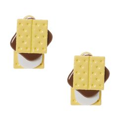 Smore Front and Back Stud Earrings