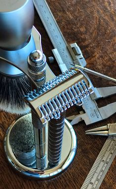 The YAQI Grace with Mellon Head Razor paired with the YAQI Liberty Two Band Badger Brush Shaving Brush, Shaving Soap, Best Safety Razor, Barber Gifts, Shaving Products, The Art Of Shaving, Close Shave, Shaving
