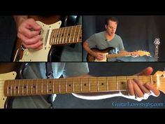 18 and Life Guitar Lesson (Chords/Outro Solo) - Skid Row - YouTube