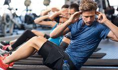 Entrenamiento Sixpack: los mejores ejercicios abdominales para principiantes y profesionales - Con ejercicios abdominales, todos en casa o en el gimnasio pueden acercarse a su sueño de un paquet - # Pilates Workout Routine, Fitness Workouts, Fast Workouts, Planet Fitness Workout, Sport Fitness, Workout Diet, Sixpack Workout, Sixpack Training, Cardio Training