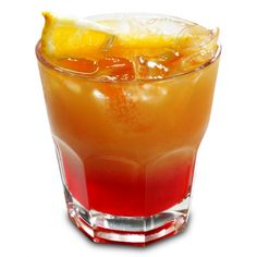Jack Daniel's Whiskey, 2 oz. cranberry juice, and a dash of peach schnapps. Combine all ingredients over ice in old-fashioned glass. Garnish with maraschino cherry and fresh orange slice. Whiskey Drinks, Bar Drinks, Cocktail Drinks, Cocktail Recipes, Alcoholic Drinks, Beverages, Vodka Drinks, Margarita Recipes, Martinis