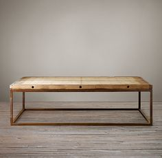 """Brickmaker's Table    Dimensions        Large (approximate): 51""""L x 29""""W x 17""""H      Grand (approximate): 55""""L x 43""""W x 17""""H; approximately 200 lbs."""