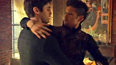 Shadowhunters Cast Teases Five Tragic Twists (and One Romantic Surprise) From the Series' Final Episodes Shadowhunters Malec, Shadowhunters The Mortal Instruments, Alec Lightwood, Malec Kiss, Constantin Film, Clary And Jace, Magnus And Alec, Romantic Surprise, Matthew Daddario