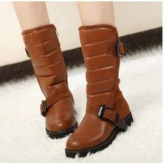 Women mid-calf boots