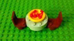 LEGO Custom Furniture - Light Blue Kitchen Table, Chairs Plate Cherries Food! #LEGO #LEGOModular #LEGOFurniture #LEGOKitchen