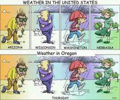 Oregon humor