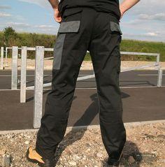 2 x Blackrock Workman Work Wear Trousers *FREE KNEE PADS* Cargo Combat Pants | eBay