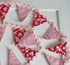 Valentine's Day Garland Bunting Banner by SugarAndSpice on Etsy, $28.00