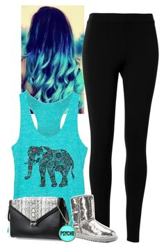 """""""Untitled #183"""" by funnycakes111 ❤ liked on Polyvore featuring Max Studio, UGG Australia and BCBGeneration"""