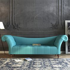 Elegance with Comfort   Enduring Design Bella #ChaiseLounge for Bedroom by #WoodenStreet #chaiseloungeonline #chaiseloungeforbedroom #chaiselounge #Sofa #chair
