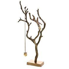 DIY CRAFTS Branch Jewelry Holder