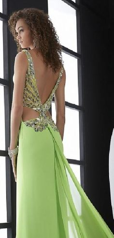 Sexy A-Line V-neck Sage Sleeveless Natural Evening Dress lkxdresses11120xcv #longdress #promdress