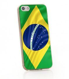 iPhone 5 5s Brasilien Flaggen Case