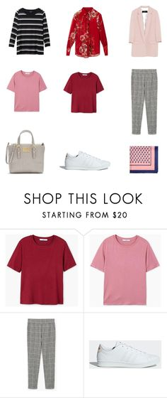 """""""spring wishlist 2"""" by mylilacwine ❤ liked on Polyvore featuring MANGO and adidas"""