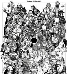 Soulsborne Dark Souls 2, Demon's Souls, Bloodborne Art, Soul Game, Anime Soul, Dragon Slayer, Fantasy Art, Knight, Horror