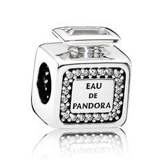 Pandora Silver Cubic Zirconia Signature Scent Charm 791889CZ