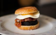 The Doughnut Breakfast Butty