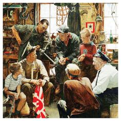 Masterpieces Norman Rockwell Saturday Evening Post Homecoming Marine Puzzle - 71366