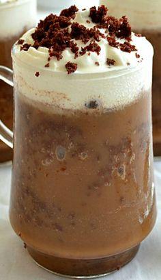 Mocha Brownie Frappuccinos