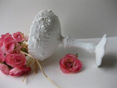 Vintage Fenton Milk Glass
