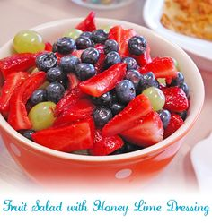 """This is a """"must add to your recipe board"""" fruit salad!!! Your Easter brunch guests will rant & rave over it! #AnnasLinens"""
