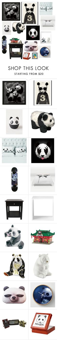 """Panda themed bedroom"" by twisteddreamcatcher ❤ liked on Polyvore featuring interior, interiors, interior design, home, home decor, interior decorating, Hidden, Urban Outfitters, Monde Mosaic and Enjoi"