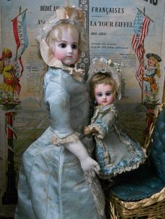 ~~~Rare Petite French Bisque BeBe Jumeau Size 1 ~~~ from whendreamscometrue on Ruby Lane