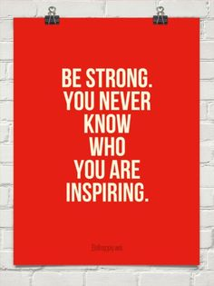 You never know who you are inspiring so be strong. My bestest friends are incredibly strong, @Michelle Flynn Lach  Lach and @Tu-Trinh Katie McGee. You inspired me all the time to be the best that I can be and I love you guys so much.
