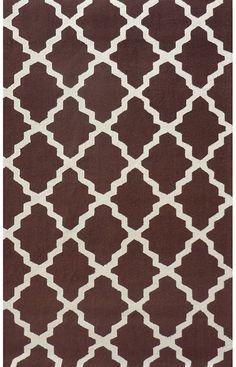 Moroccan trellis rug