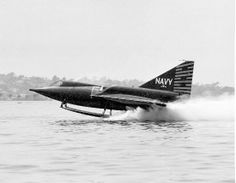 January 14, 1953: First flight of the Convair F2Y Sea Dart