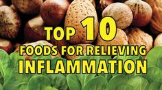 Internal inflammation can cause disease such as cancer, heart disease and arthritis.  Top 10 functional foods for relieving inflammation