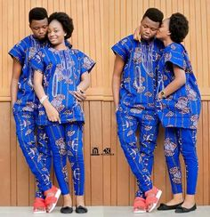 The Best Family Ankara Styles Mix Looking for the best ankara outfit that will be ok for your family? worry no more because we here at ANKARA XCLUSIVE gathered some lovely family collections of ankara styles. Couples African Outfits, African Attire For Men, African Clothing For Men, African Dresses For Women, Couple Outfits, African Wear, African Fashion Dresses, African Women, Ankara Fashion