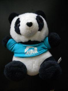 """Yosemite National Park Plush Panda Bear Stuffed Animal Soft Doll Toy Kids 9"""" #ASI"""