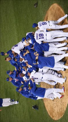 Cubs Win NLCS. October 22, 2016.                                                                                                                                                                                 More