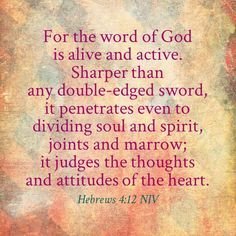 HEBREWS 4:12 IMAGES - Google Search