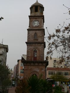 Historical Clock Tower in #Canakkale #turkey