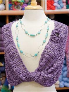 Möbius Scarf - Free Crochet Pattern - Handcrafting With Love