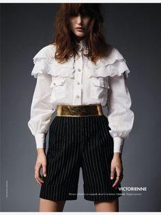 Elle France March 2015 | Catherine McNeill by Jean Baptiste Mondino