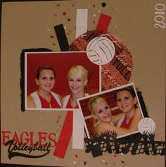 perfect for when scrapbooking sports teams.
