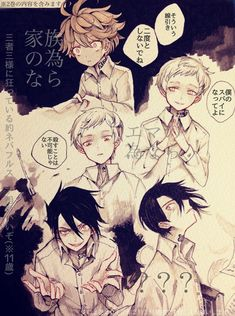184 Best The promised neverland images in 2019 | Neverland
