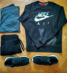 Another outfit!!  #nike #nikeair #bershka #hm #adidas #adidasog #tubular #outfitgrid #ootd