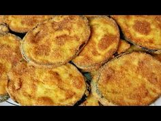 Fried Eggplant - Trick to make them crunchy Vegan Vegetarian, Vegetarian Recipes, Snack Recipes, Snacks, Dominican Food, Eggplant Recipes, Healthy Alternatives, Tapas, Food To Make